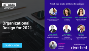 Organizational Design for 2021 - The Studio @ Home poster