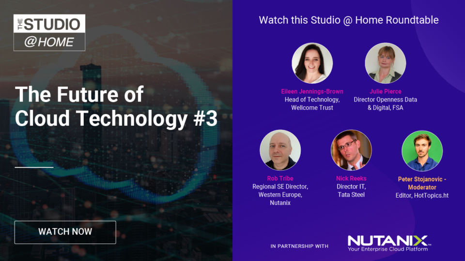 The Future of Cloud Technology 3 - The Studio @ Home poster